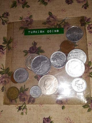 monedas de Turquia