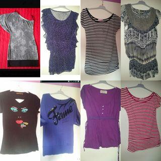 camisetas L nuevas y semi desde 6€