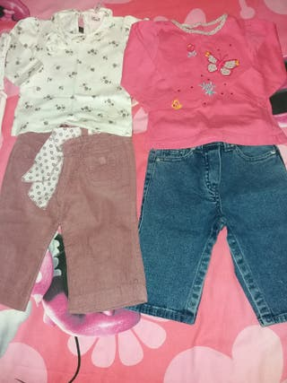 Lote de ropa de otoño-invierno talla 3-6 meses