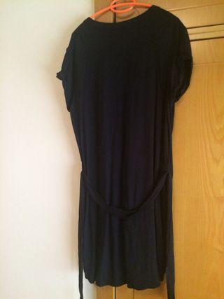 Vestido negro nina kiabi