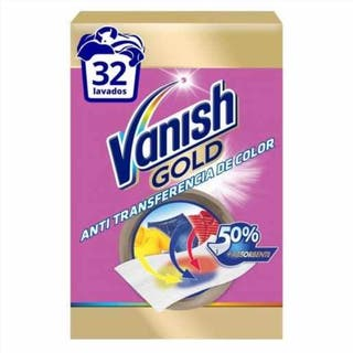 Toallitas Absorbentes de Color Vanish Gold (12 uds