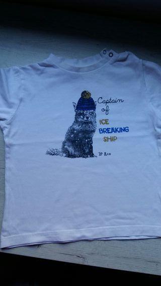 Camiseta niño 3POMMES