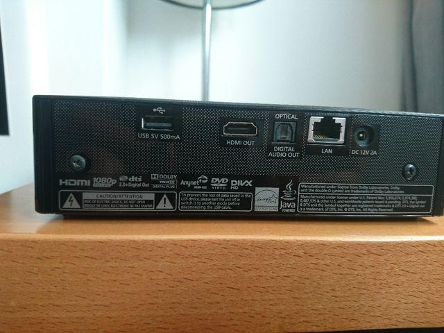 Reproductor Blu Ray Samsung BD-ES5000