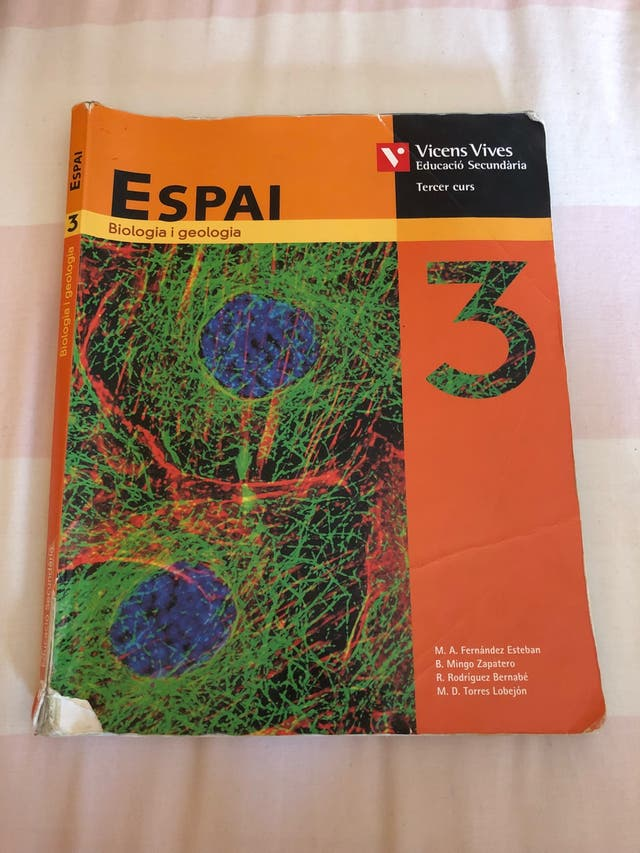 Llibre biologia i geologia 3r ESO
