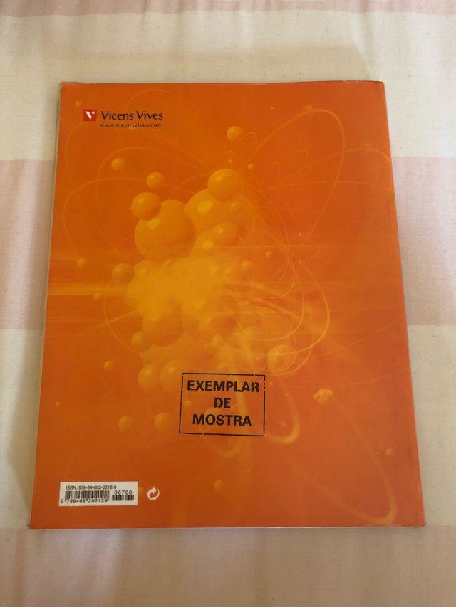 Llibre física i química Nou Positró 3r ESO