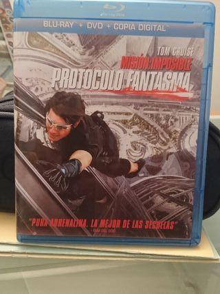 Blu Ray Misión Imposible: Protocolo Fantasma