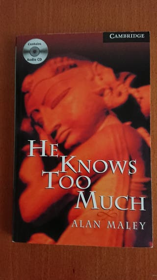LIBRO INGLÉS HE KNOWS TOO MUCH