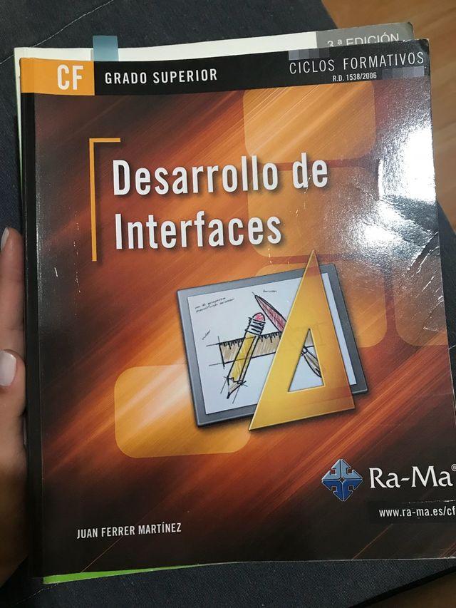 Libro Desarrollo De Interfaces De Segunda Mano Por 20 En