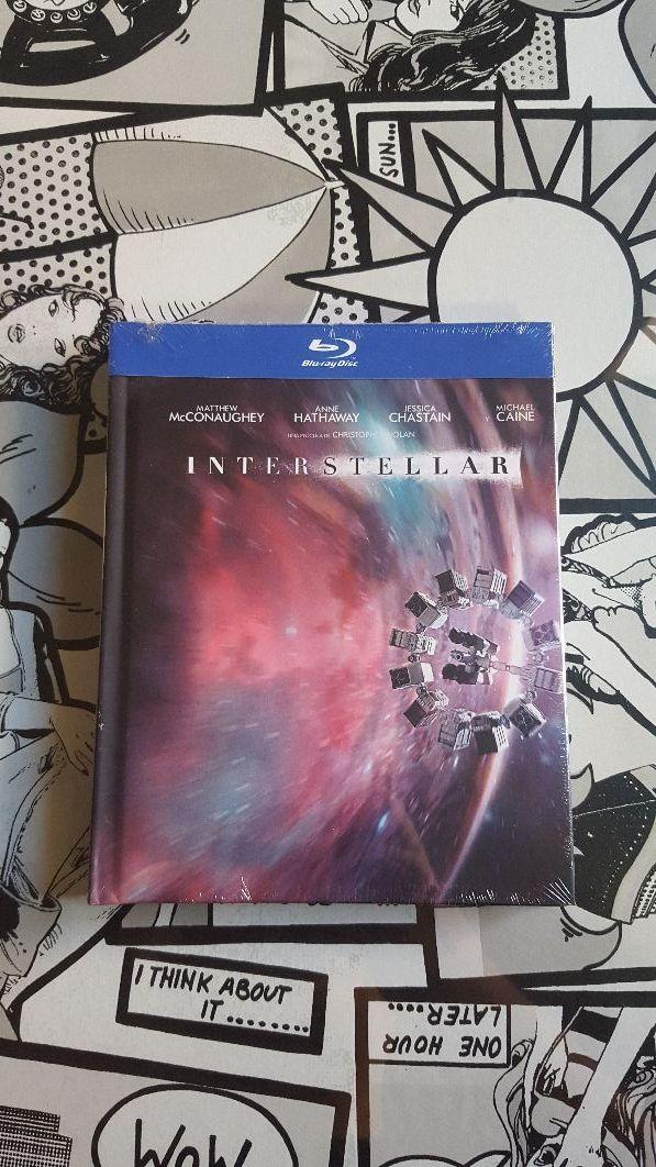 Pelicula Interstellar Bluray Coleccionista