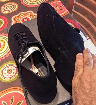 44 Zapatos Talla Baile Estrenar Hombre De Mano A Segunda Reina vR1qav