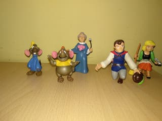 Figuras comics Spain Disney PVC años 80 cuento