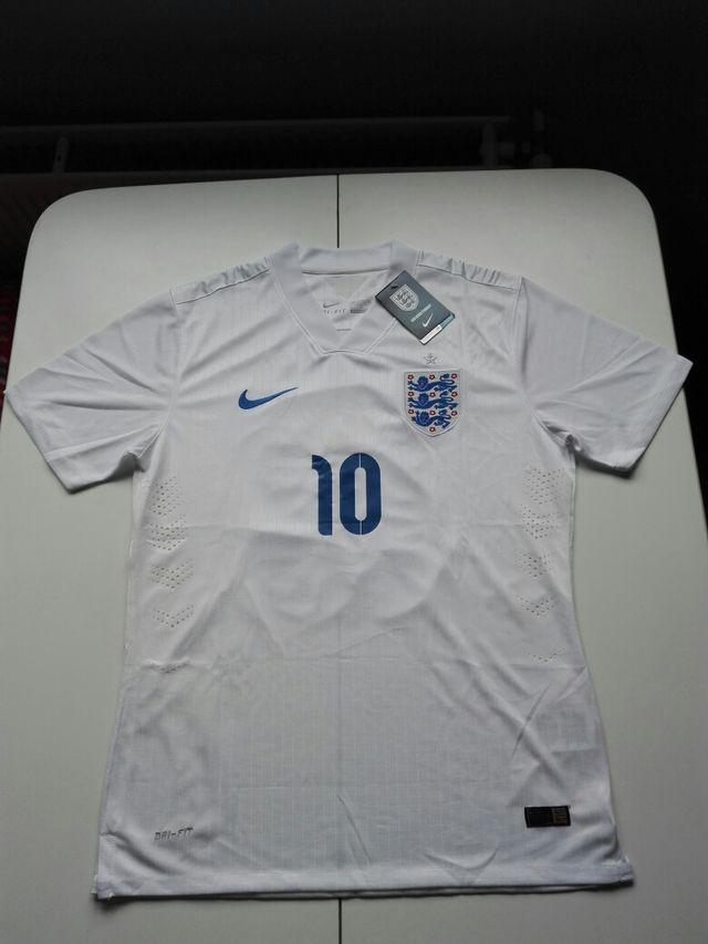 Camiseta Nike Selección De Inglaterra - Rooney 10 de segunda mano ... 43f5cded4f4c8