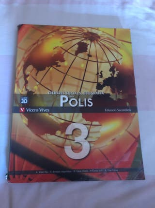 Llibre ciències socials i geografia 3r ESO