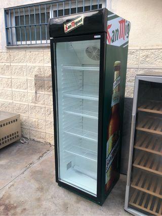 Armario frigorifico nevera expositora vertical