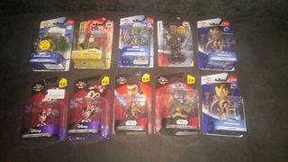 12 Figuras Disney Infinity pack