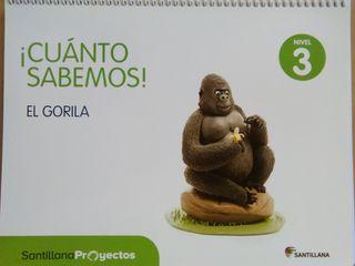9788468030128 NIVEL 3 EL GORILA.SANTILLANA