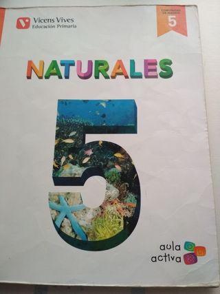 Libro 5° de primaria Naturales 978-84-682-2760-3