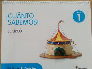 9788468028835 NIVEL 1 EL CIRCO
