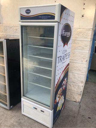 Congelador expositor vertical vitrina