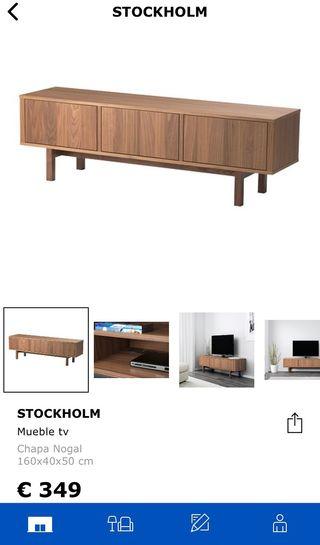 Mueble Ikea nogal de segunda mano - wallapop