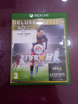 FIFA 16 DELUXE EDITION PARA XBOX ONE