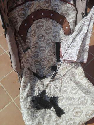 Sombrilla y colcha silla