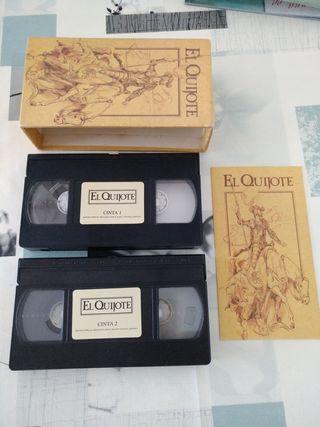 Cinta VHS el Quijote