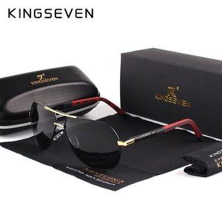 Kingseven gafas polarizadas de sol aluminio hombre