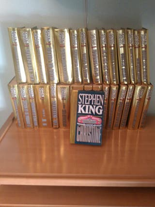 Colección 30 libros Stephen King