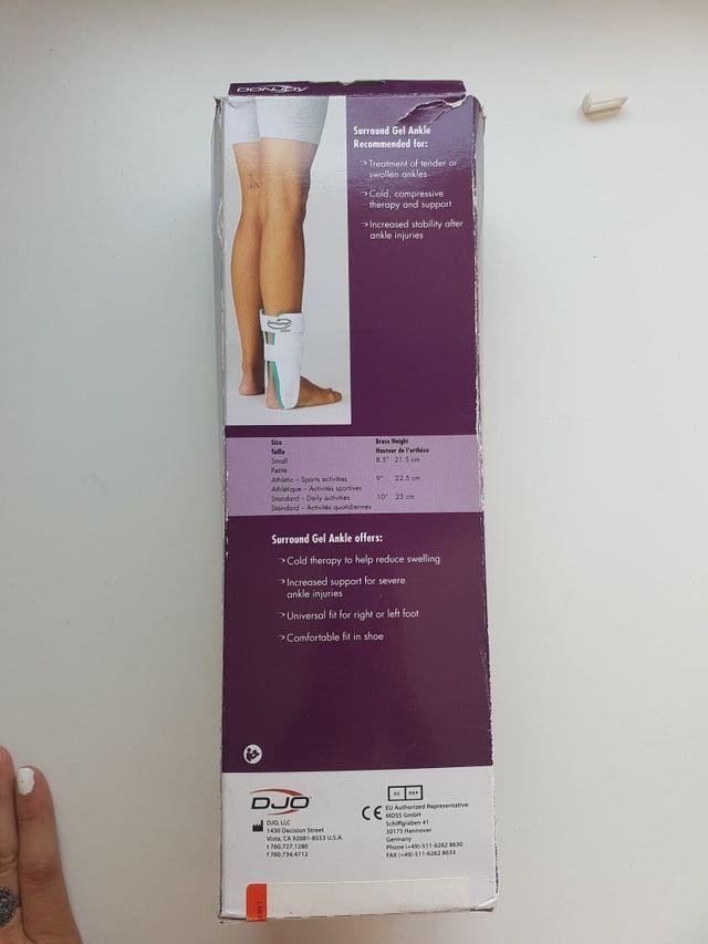 comprar como escoger marcas reconocidas Férula tobillera con terapia de frío de segunda mano por 25 ...