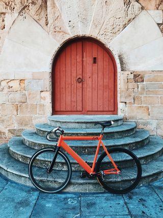 Bicicleta Fixie Leader 721 (piñon fijo) 2017