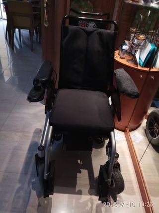 silla de ruedas motor