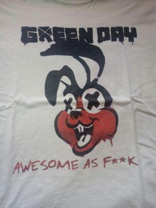 Camiseta Green Day talla M