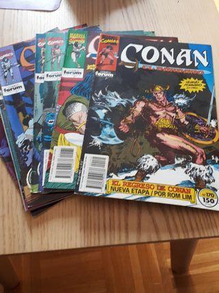 9 comics de Conan