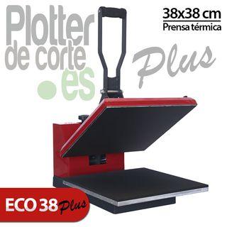 Prensa térmica ECOPLUS de 38 x 38
