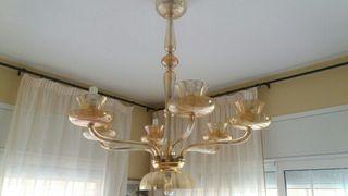 lampara antigua bohemia