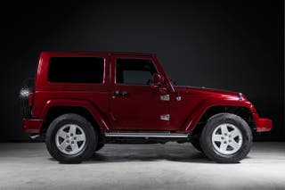 JEEP WRANGLER UNLIMITED 2.8 CRD SAHARA TRAIL RATED