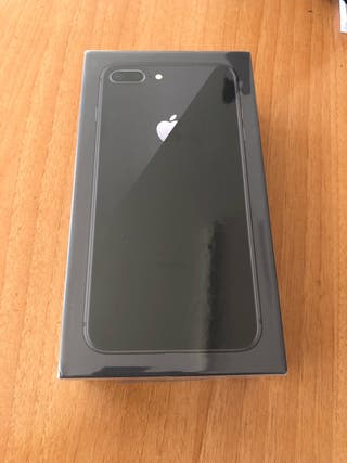 IPHONE 8 PLUS 64GB GRIS ESPACIAL ORIGINAL APPLE!!