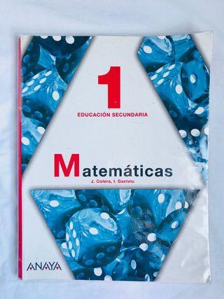 Libro matemáticas 1 E.S.O.
