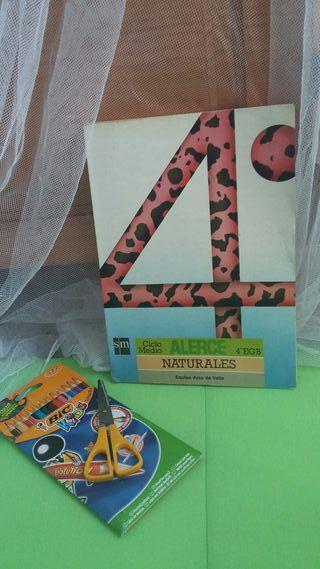 Libro Naturales 4 EGB