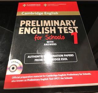 PRELIMINARY ENGLISH TEST 1