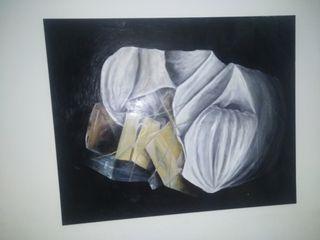 cuadro hecho a mano