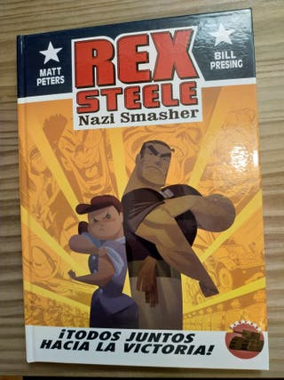 cómic Rex Steele nazi smasher