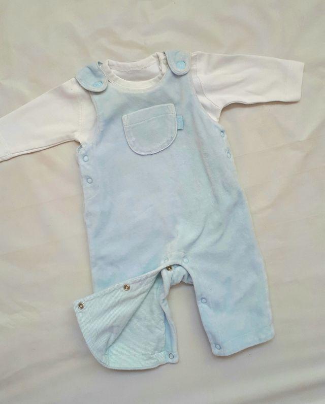 72b70f7d0cf7d Conjunto 1-3 meses. ropa bebe niño invierno de segunda mano por 6 ...
