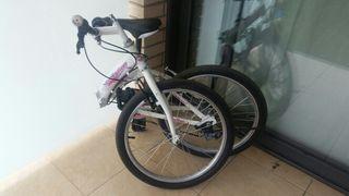 bicicleta niña rueda 20