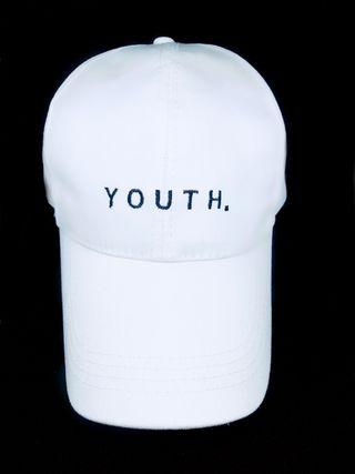 YOUTH. Baseball caps White/Black