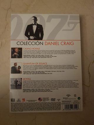 dvd 007 coleccion daniel craig