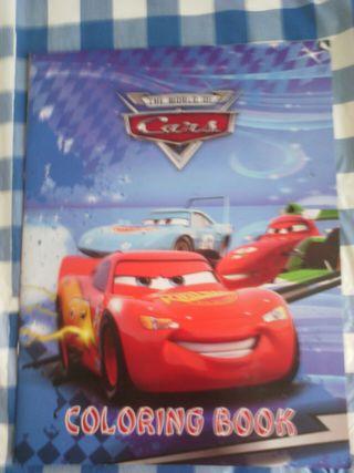 Libro de Cars.