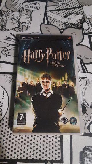 Harry Potter y la Orden del Fenix PSP