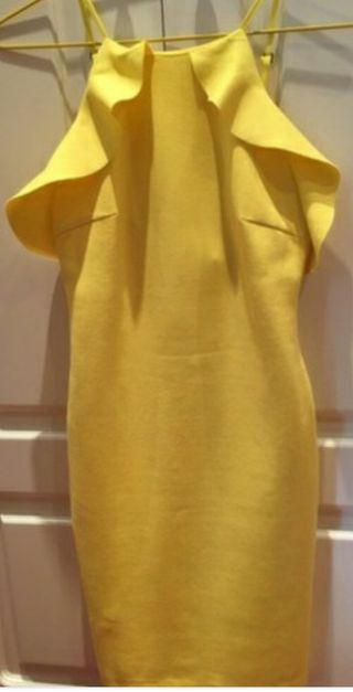 Amarillo Vestido Zara Por Mano De Segunda 12 drr5wq